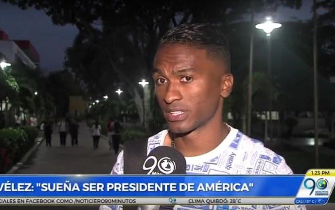 Iván Vélez inició sus estudios apuntándole a ser directivo del América