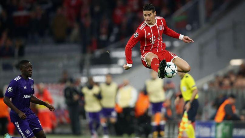Bayern buscaría quedarse con derechos deportivos de James Rodríguez