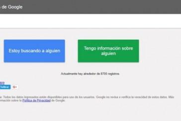 Google activó herramienta para localizar víctimas del sismo en México