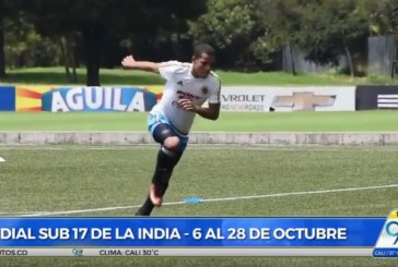 Luego de ocho años, Sub 17 de Colombia regresará al Mundial de Fútbol en la India