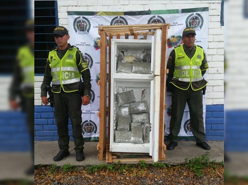 En dos operativos, autoridades propinaron duro golpe al tráfico de marihuana en Valle