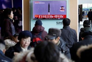 Pánico en Japón por misil que sobrevoló su territorio lanzado por Corea del Norte