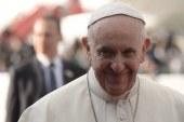 La bienvenida al Papa y sus palabras a los jóvenes en la Nunciatura Apostólica