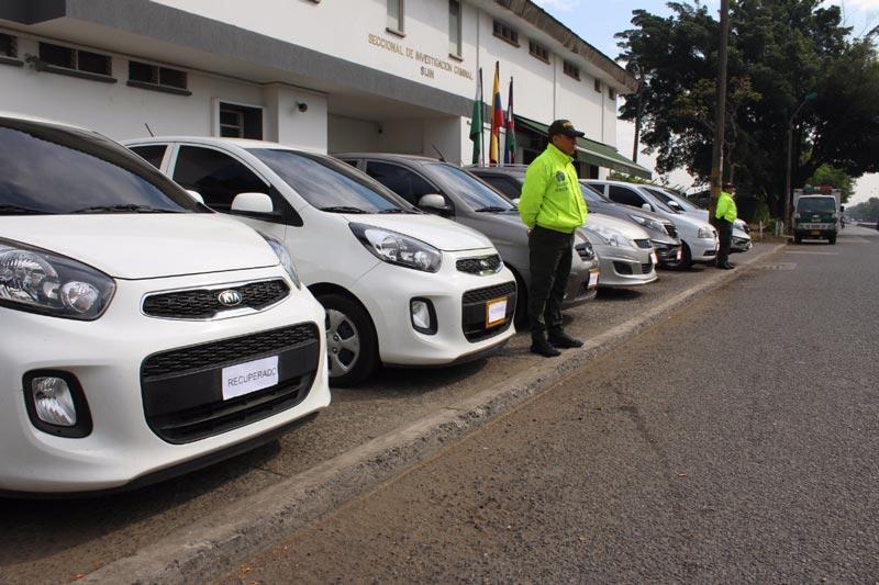 'Plan Cazador' ha permitido recuperar 680 vehículos en Cali durante el 2017