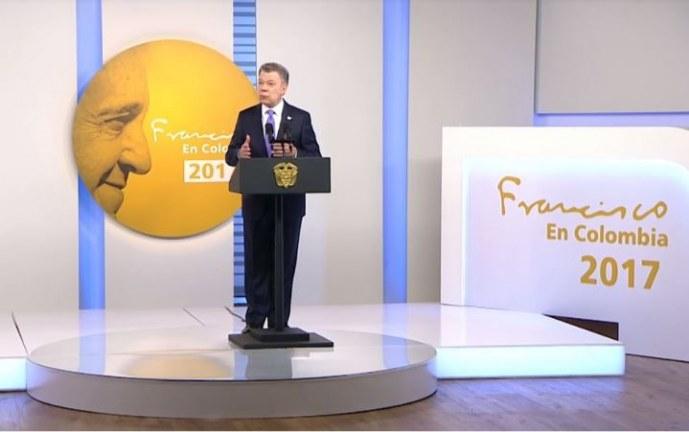 Santos anuncia acuerdo para declarar cese al fuego y de hostilidades bilateral con el ELN