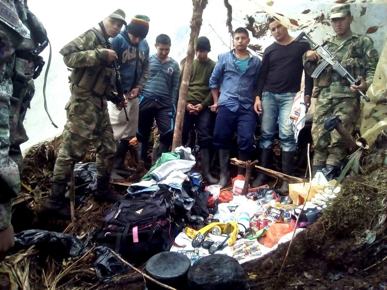 Seis capturados por extraer material rocoso para explotación minera en Farallones de Cali