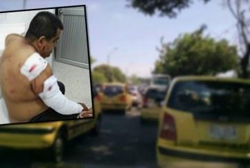 Taxista recibió 16 puñaladas en Siloé tras negarse a prestar su celular a pasajeras