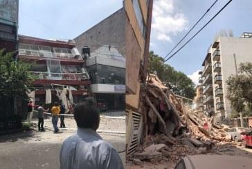 Terremoto de 7,1 que sacudió México deja más de 200 víctimas mortales