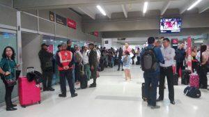 Tripulación extranjera llegó a cubrir la ruta Cali - Madrid de Avianca