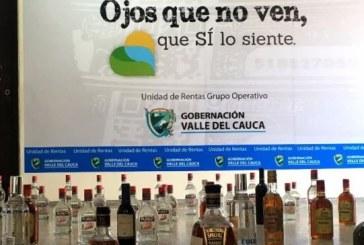 En operativo sorpresa fue incautado licor adulterado y de contrabando en Yumbo