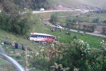 4 personas muertas y 21 heridas es el saldo de accidente de tránsito en vías del Cauca