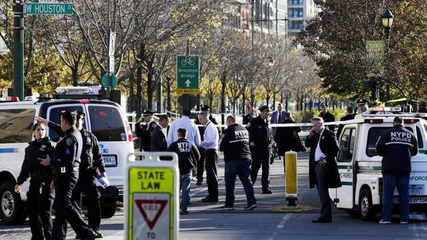 Atentado terrorista dejó ocho muertos en Manhattan, New York