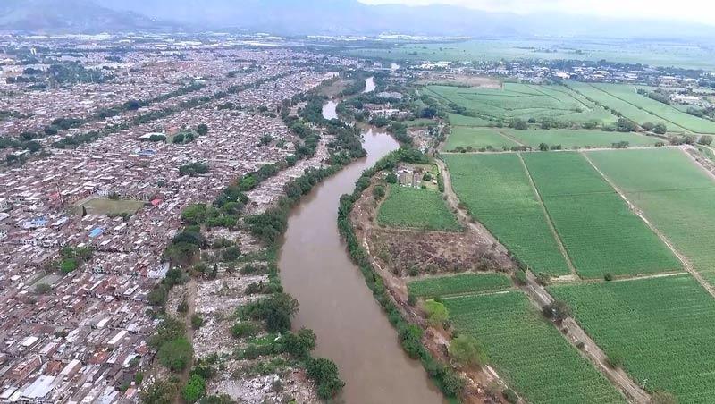 Autoridades iniciarán obras de reforzamiento en 7 puntos del Jarillón del río Cauca