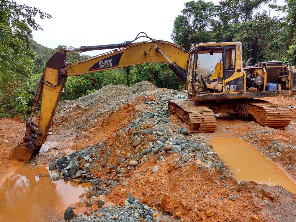 Ofensiva contra bandas de minería ilegal en zona rural de Buenaventura