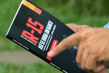 Alejandro Aguirre recrea los asaltos de Banda de los R-15 en su nuevo libro