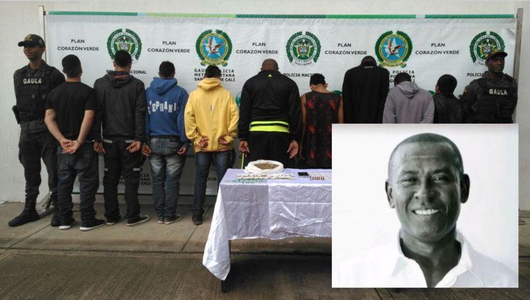 Asesino del exjugador Jair Abonía fue capturado junto con integrantes de la banda 'Los Casqueros'