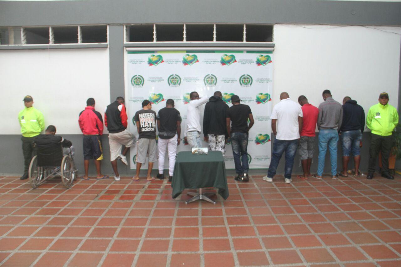 Capturados integrantes de la banda criminal Los Ñato que operaba en el oriente de Cali