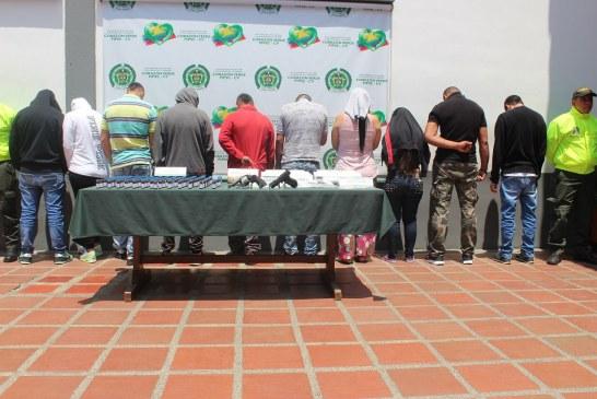 Desarticulada banda 'Los Dealers' que distribuía drogas en Colombia y el exterior