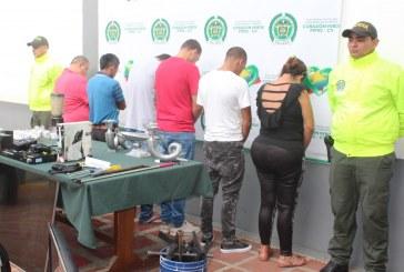 Capturados seis integrantes de la banda criminal 'Los Pisa Suave'