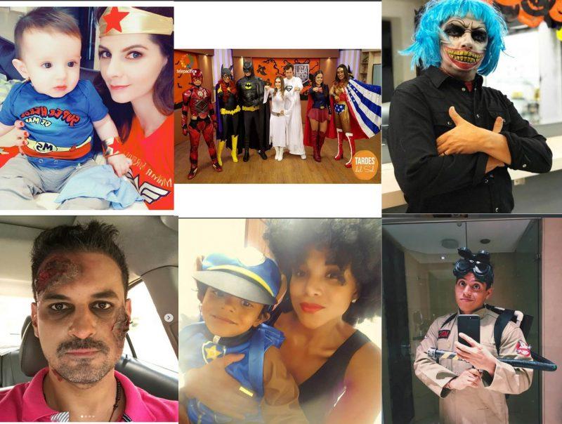 Vea cómo se disfrazaron las celebridades vallecaucanas y sus hijos