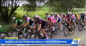 Ciclistas de todo el mundo dieron inicio a la II vuelta a Colombia Femenina en Zarzal