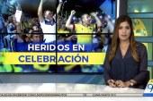 Cinco heridos dejaron en Cali las celebraciones por clasificación al Mundial