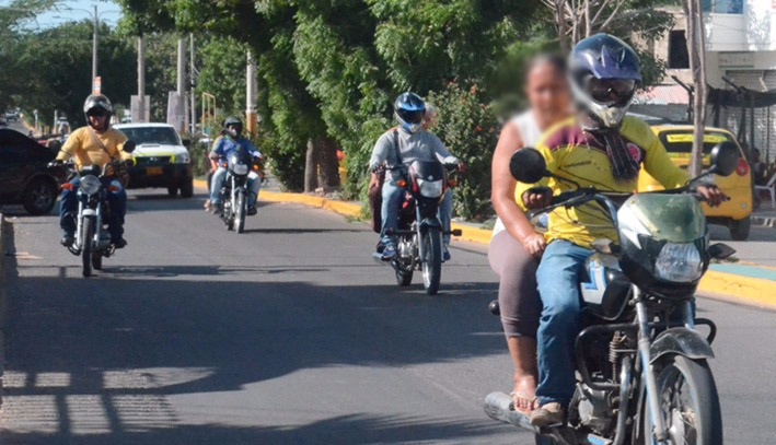 Mototaxistas de Jamundí preocupados por panfletos con amenazas de muerte