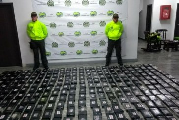 Autoridades incautan 350 Kilogramos de cocaína del Clan del Golfo