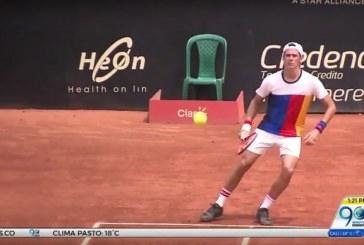 Gran actuación del tenista Alejandro González en 'Milo Open' de Cali