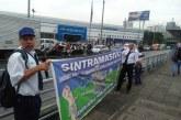 Conductores del Mío que protestan en estación torre de Cali denuncian atrasos en pago de cesantías