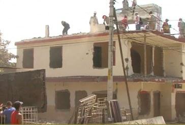 Continúa demolición de viviendas en el Jarillón del río Cauca