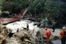 Continúan búsqueda de hombre desaparecido tras desplome de puente en Inzá, Cauca