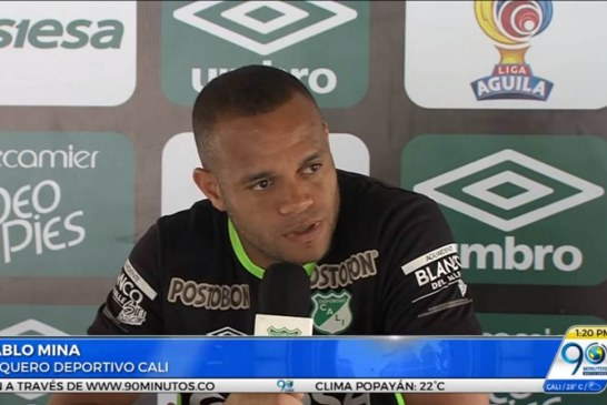 """""""Esperamos ganar ante Jaguares y seguir con la confianza de entrar a los ocho"""": Pablo Mina"""