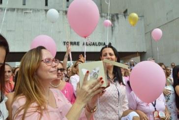 Empleados de Emcali se solidarizaron con la lucha contra el cáncer de mama