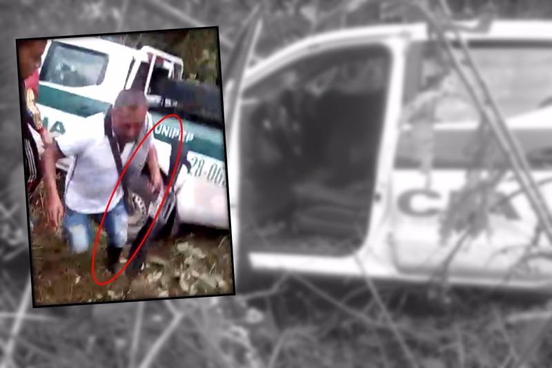 Devuelven fusil sustraído de camioneta de policías asesinados en Miranda, Cauca