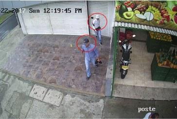 Galería: hombres armados asaltaron un estanco cuando abrían el negocio