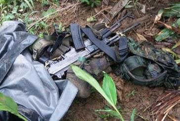 Incautan material de guerra que pertenecería al ELN en Chocó