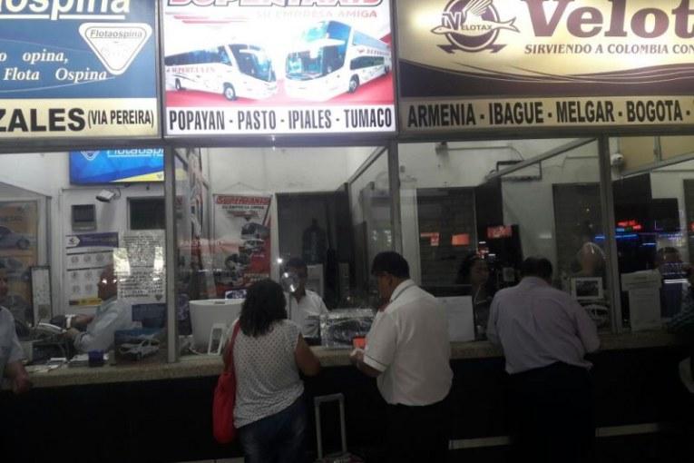 Incertidumbre entre viajeros de Terminal de Transportes de Cali tras minga indígena
