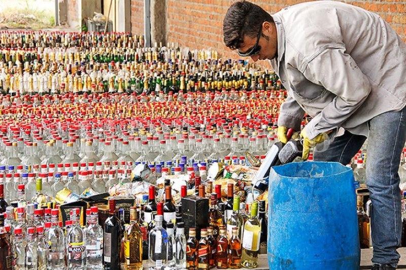 Policías de carretera estarán capacitados en detección de licor adulterado o de contrabando