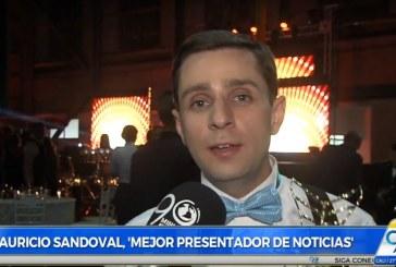 Mauricio Sandoval, galardonado en 'Premios al talento y moda vallecaucana'