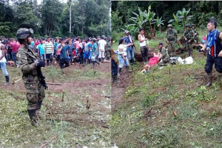 Identificadas las víctimas del confuso ataque contra campesinos en Tumaco