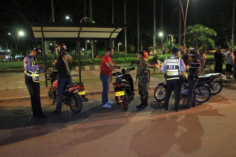 Palmira se unió a municipios del Valle que prohíben parrillerro hombre en motos