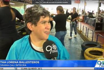 40 personas en condición de discapacidad disfrutaron del Karts Indoor Fest