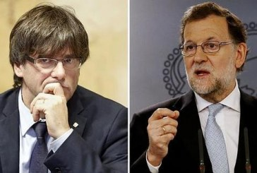Rajoy no aceptó más el desafío de Cataluña: por ley, restaurará su autoridad