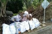 En imágenes: gran jornada de limpieza de las riberas del río Meléndez