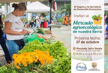 Regresa el Mercado Agroecológico de Nuestra Tierra a la plazoleta Jairo Varela