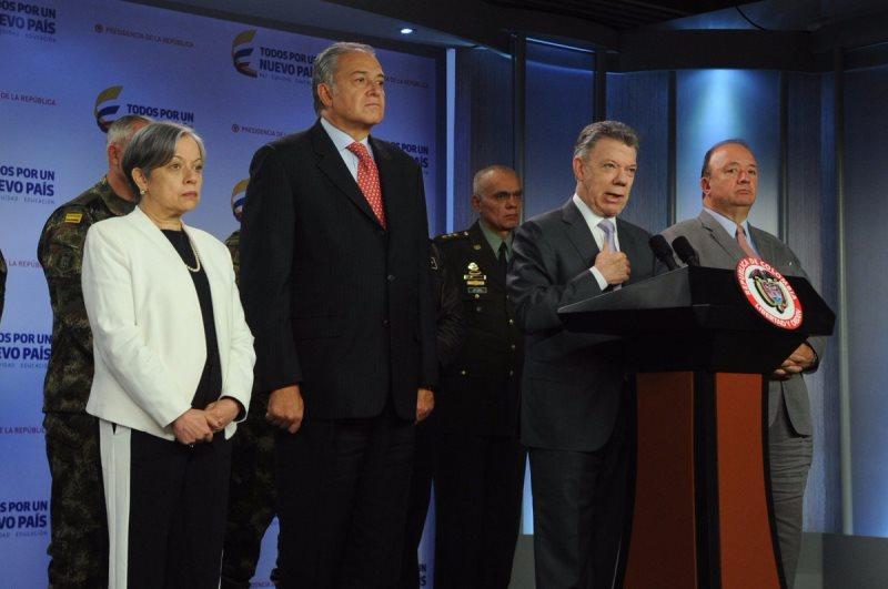 """""""Nuestra Fuerza Pública no dispara contra civiles"""": Santos sobre situación de Tumaco"""