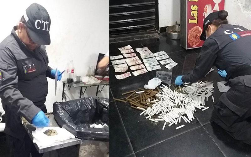 Viviendas donde se fabricaba y vendía droga fueron allanadas por Fiscalía en Cali
