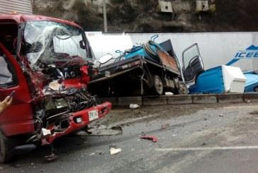 Aparatoso accidente en la vía Buga – Loboguerrero deja un muerto