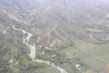 Alerta preventiva por posibles desplazamientos de tierra y crecientes en La Delfina